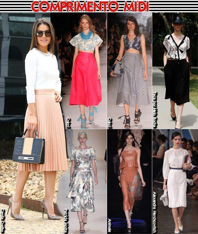 São Paulo Fashion Week - verão 2015 - saias e vestidos midi copy