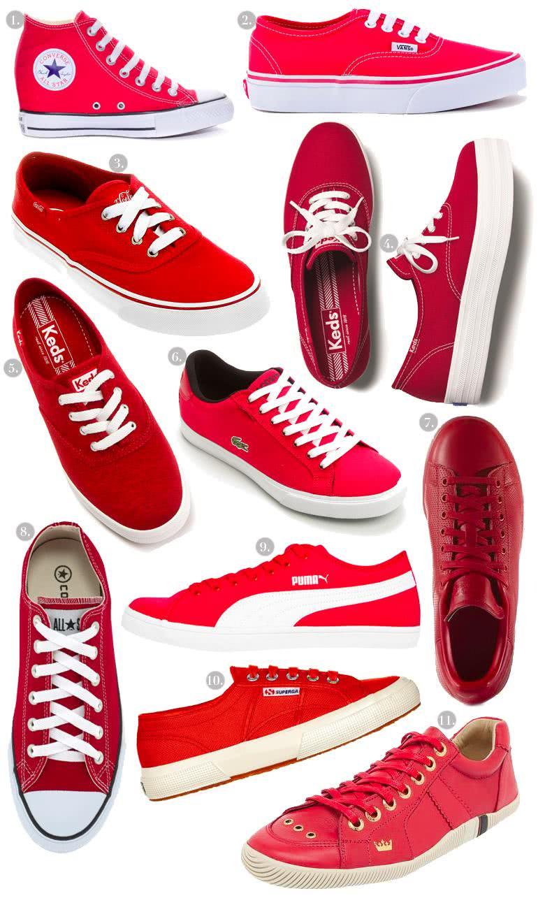 tênis-vermelho