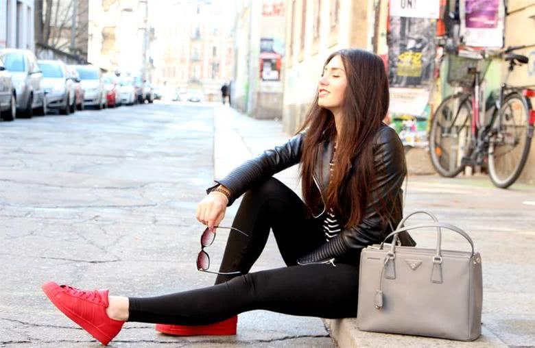 tênis-vermelho-como-usar